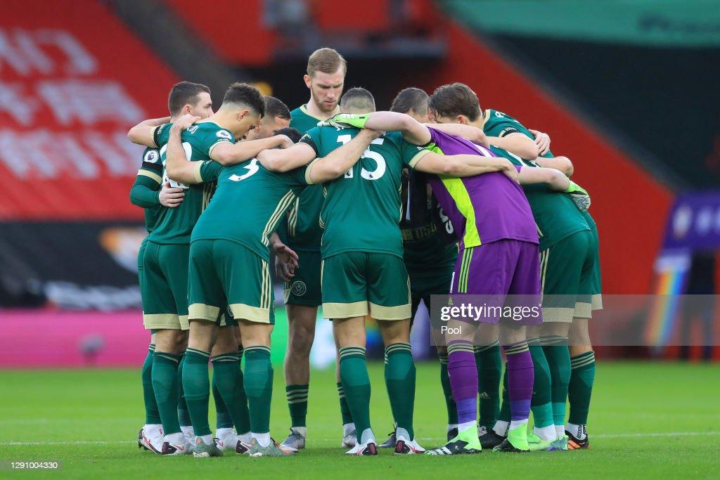 Southampton v Sheffield United - Premier League : News Photo