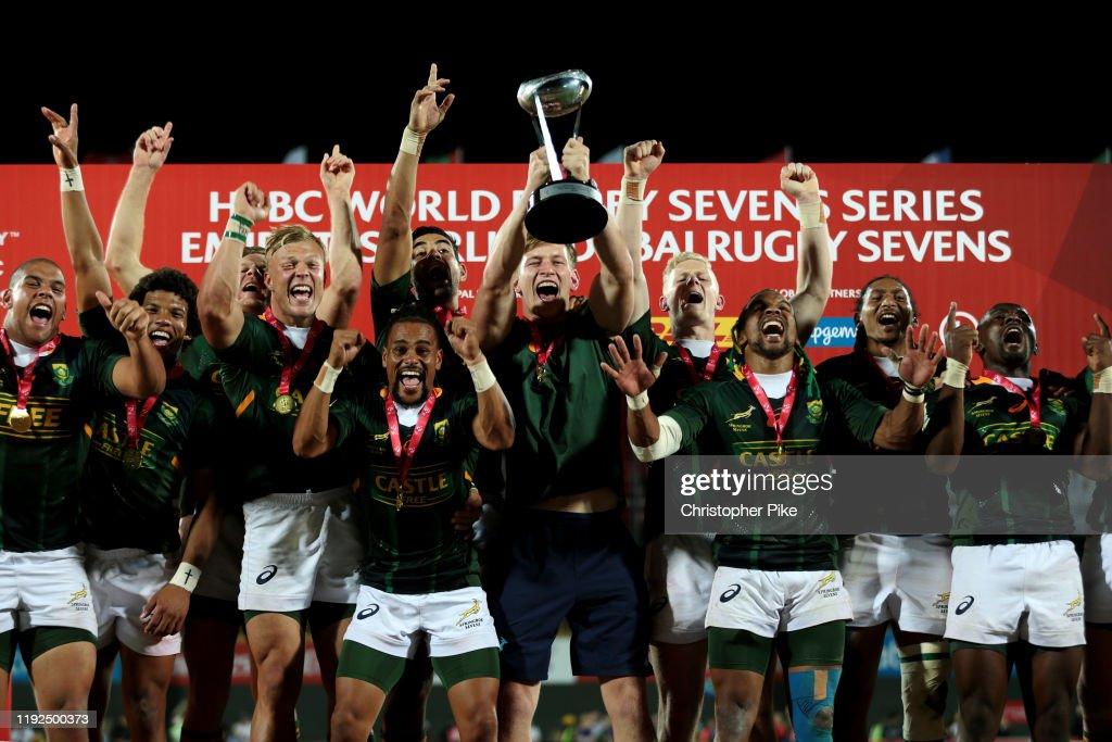 HSBC World Rugby Sevens Series - Dubai: Day Three : News Photo