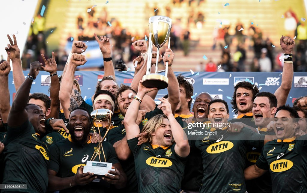 Argentina v South Africa - 2019 Rugby Championship : News Photo