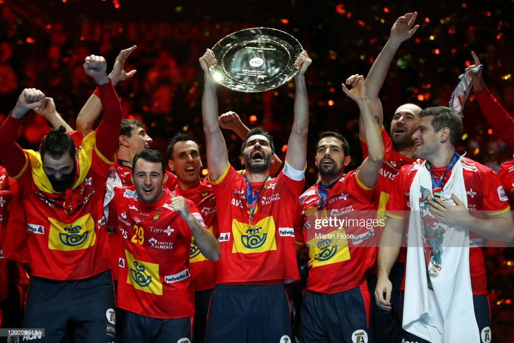 Spain v Croatia -  Final - Men's EHF EURO 2020 : ニュース写真