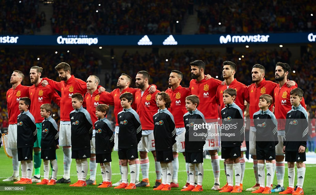Spain v Argentina - International Friendly : Fotografia de notícias