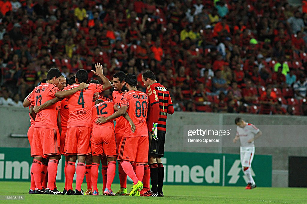 Players Of Sport Recife Enter Into The Field Before A Match Between News Photo Getty Images