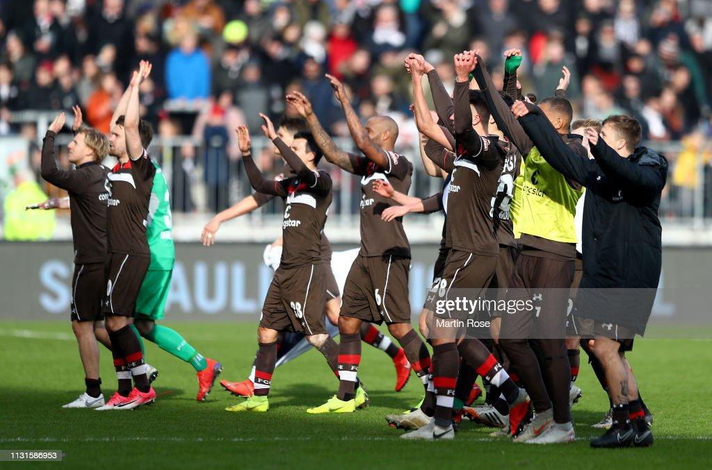 FC St. Pauli v FC Ingolstadt 04 - Second Bundesliga : Nachrichtenfoto