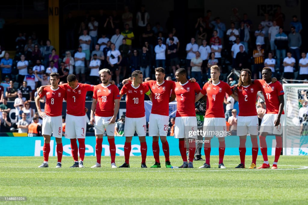 Switzerland v England - UEFA Nations League Third Place Playoff : News Photo