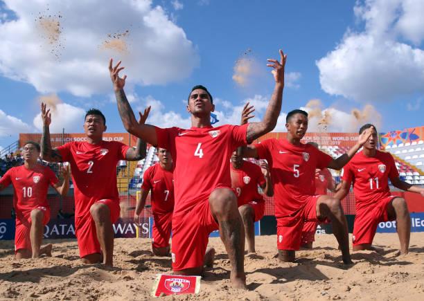 PRY: Tahiti v Mexico - FIFA Beach Soccer World Cup Paraguay 2019