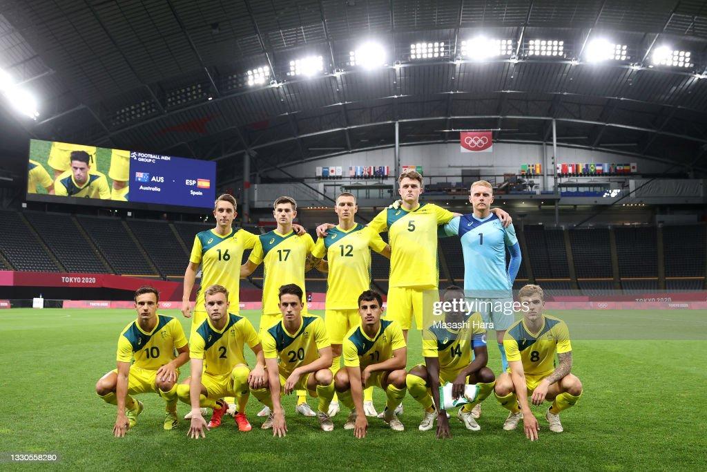 Australia v Spain: Men's Football - Olympics: Day 2 : Nachrichtenfoto