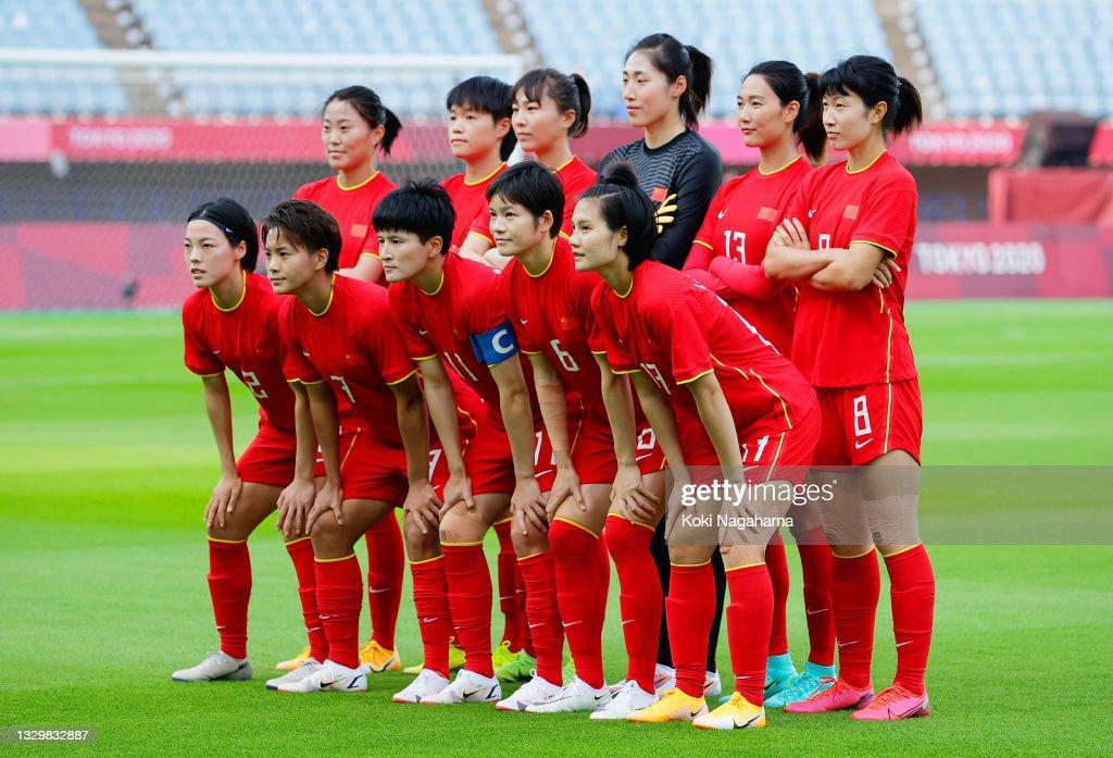 China v Brazil: Women's Football - Olympics: Day -2 : Foto jornalística