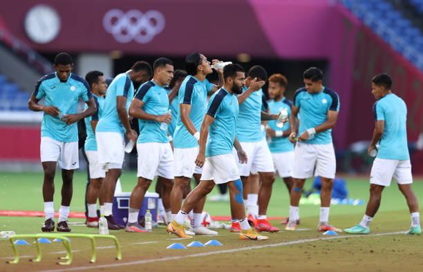 JPN: Republic of Korea v Honduras: Men's Football - Olympics: Day 5