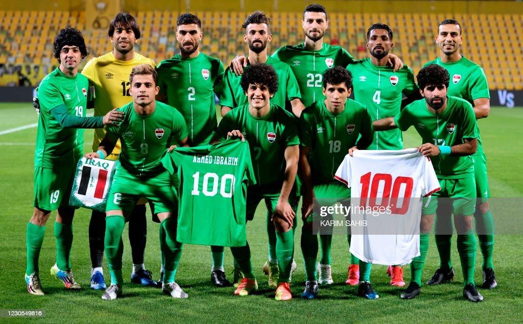 FBL-UAE-IRQ-FRIENDLY : News Photo