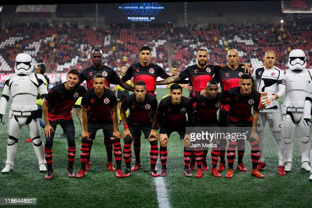 Players of Tijuana pose for a photo prior the 18th round match between Tijuana and Monterrey as part of the Torneo Apertura 2019 Liga MX at Caliente...