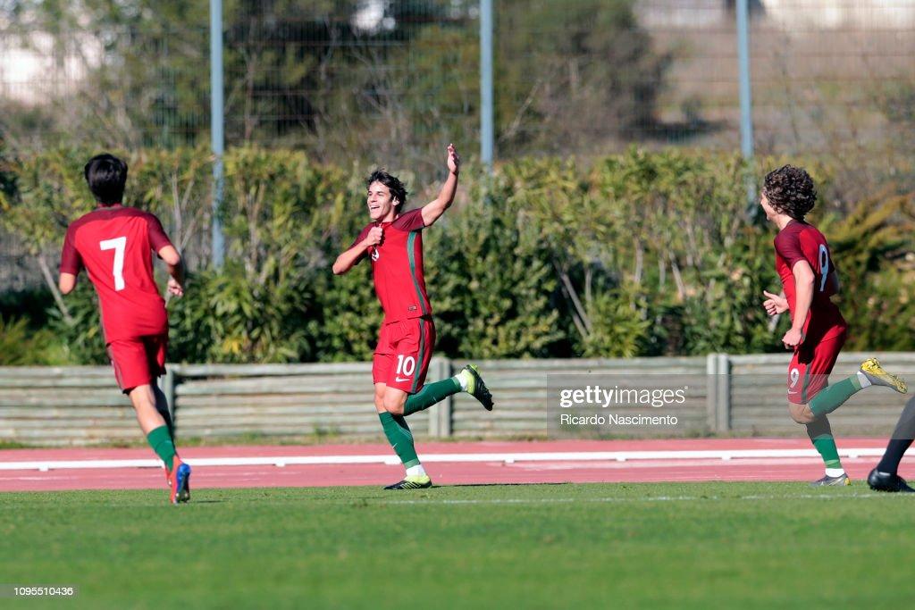 U17 Portugal v U17 Germany- U17-Juniors Algarve Cup : News Photo