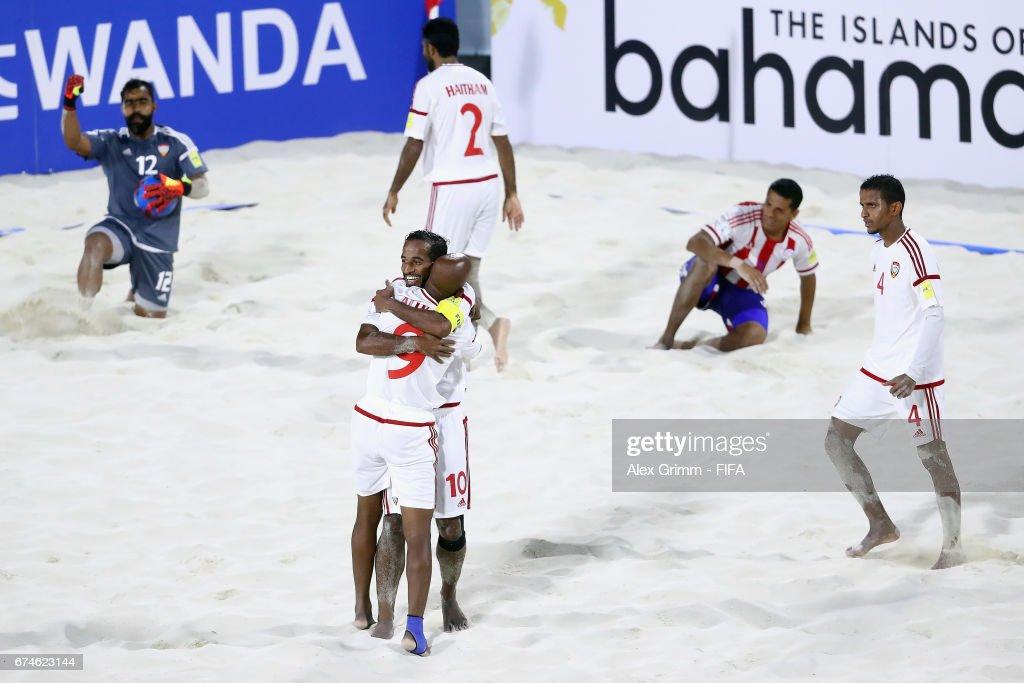 UAE v Paraguay- FIFA Beach Soccer World Cup Bahamas 2017 : ニュース写真