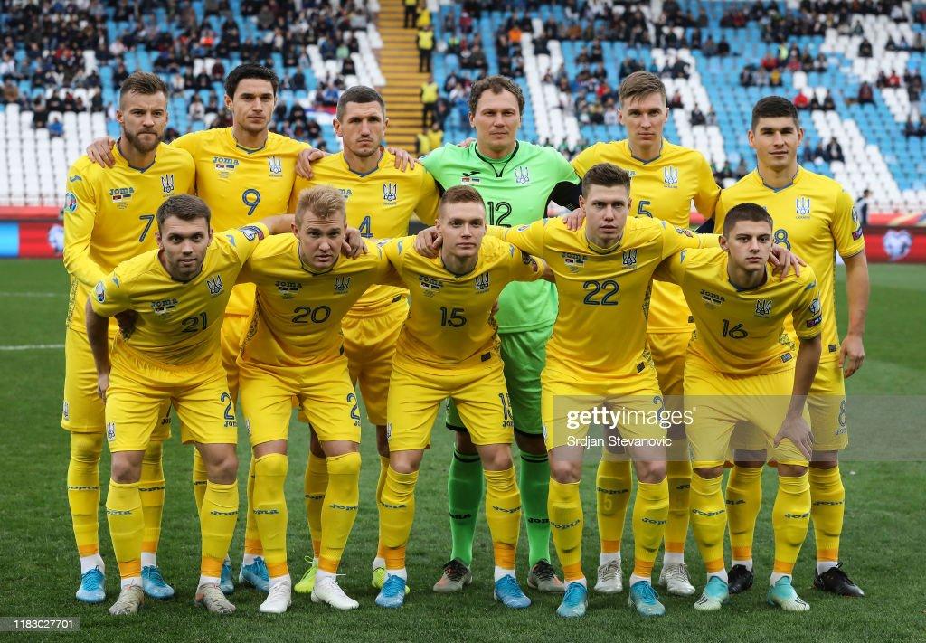 Serbia v Ukraine - UEFA Euro 2020 Qualifier : Foto jornalística