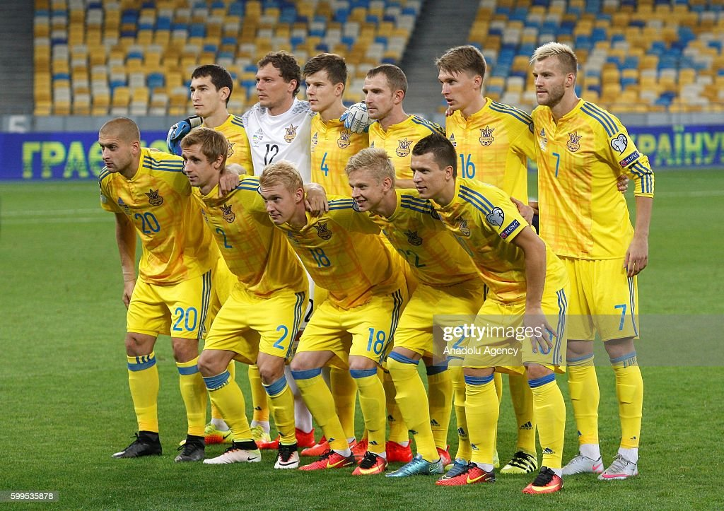 Ukraine vs Iceland - World Cup 2018 Qualification : News Photo
