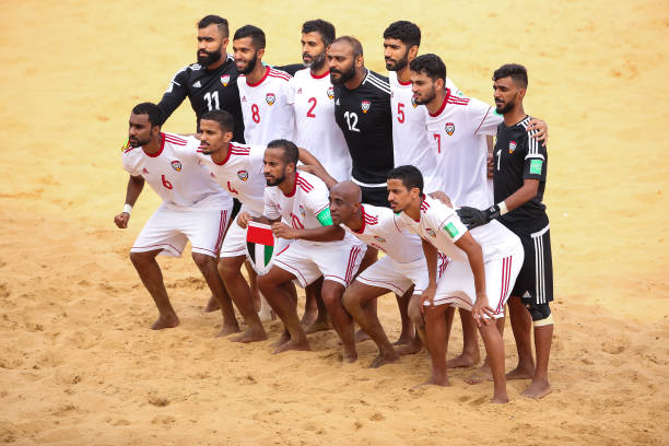 PRY: United Arab Emirates v Senegal - FIFA Beach Soccer World Cup Paraguay 2019