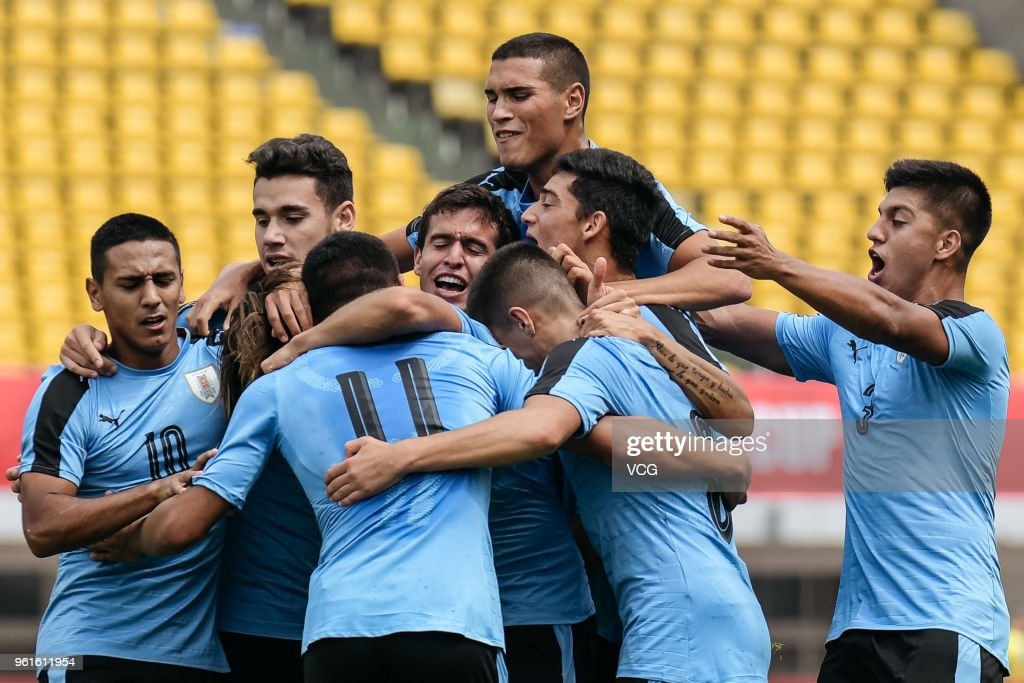 2018 Panda Cup International Youth Football Tournament - England v Uruguay