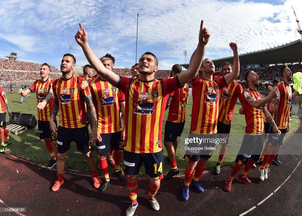 US Lecce v AC Spezia - Serie B : News Photo