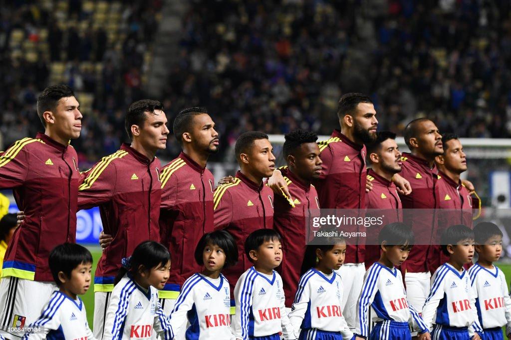 Japan v Venezela - International Friendly : ニュース写真