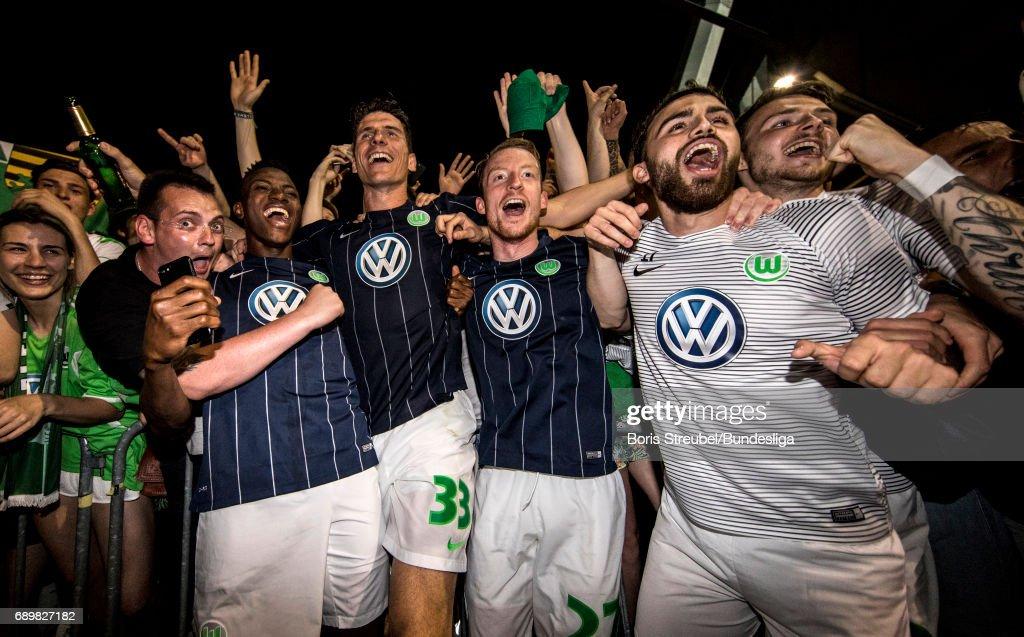 Eintracht Braunschweig v VfL Wolfsburg - Bundesliga Playoff Leg 2
