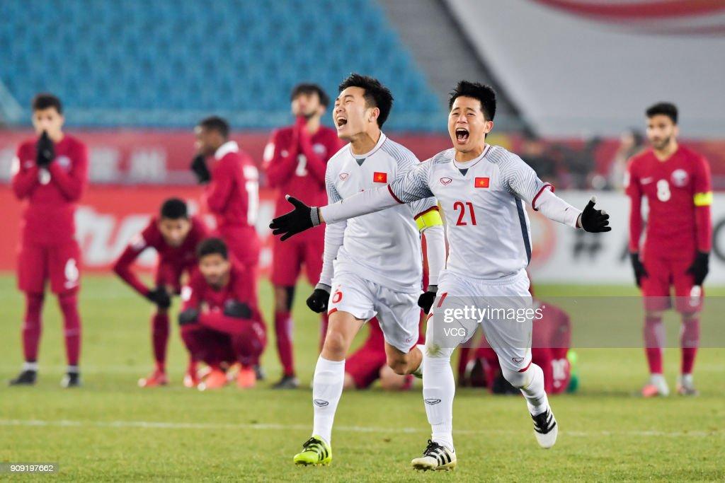 AFC U23 Championship China 2018 - Semi-finals Qatar v Vietnam