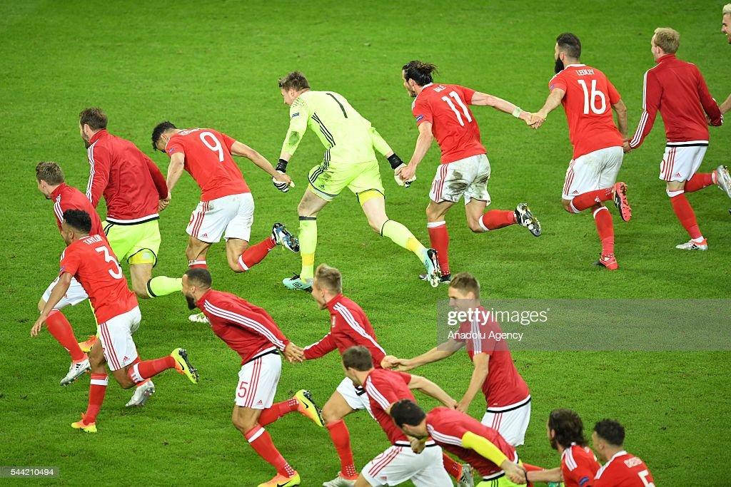 Wales v Belgium - Euro 2016 : News Photo