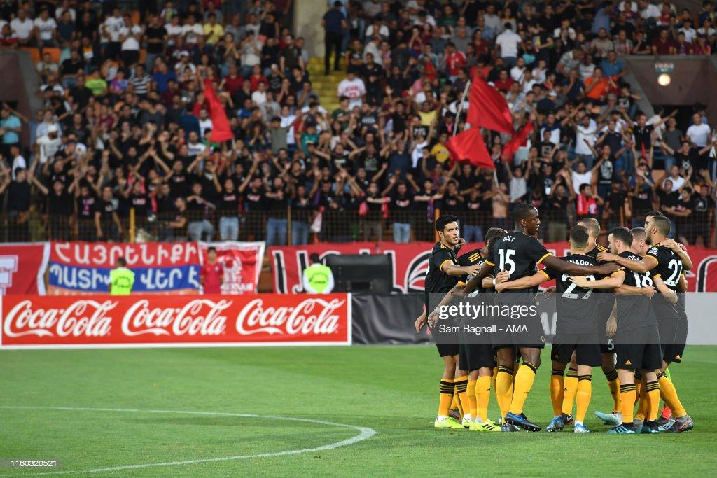 FC Pyunik v Wolverhampton Wanderers  - UEFA Europa League Third Qualifying Round First Leg : News Photo