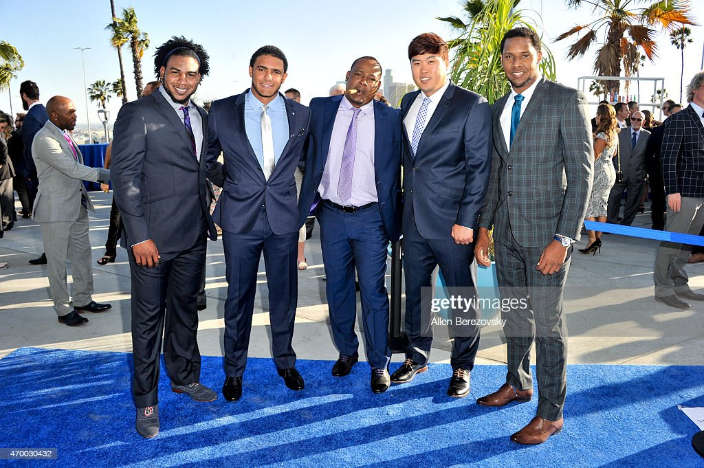 Los Angeles Dodgers Foundation Inaugural Blue Diamond Gala With Special Performance By Aloe Blacc