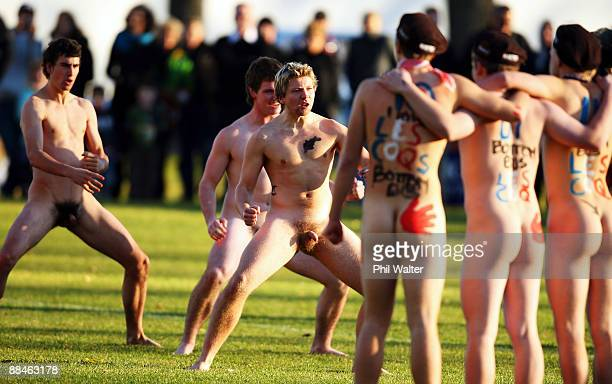 Nude Rugby Match