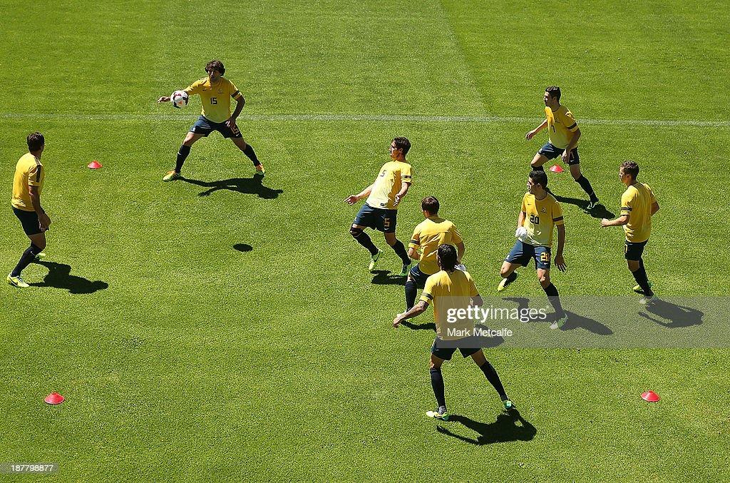 Socceroos Training Session : News Photo