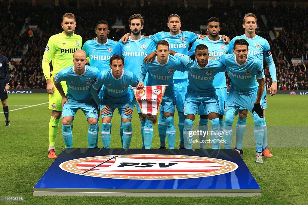 Manchester United v PSV Eindhoven - UEFA Champions League : News Photo