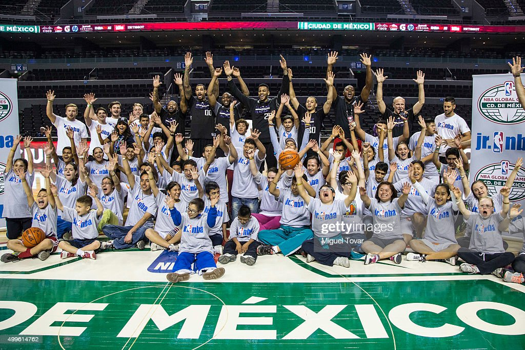 Boston Celtics NBA Cares Clinic in Mexico City : News Photo