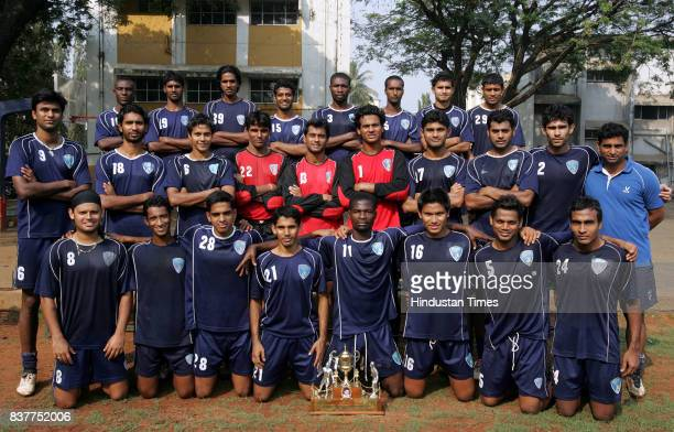 FC players posing for a photo at Don Bosco