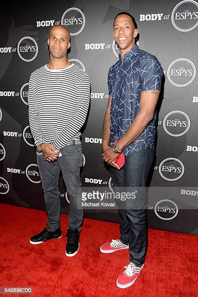 NBA players Richard Jefferson and Channing Frye at the BODY at ESPYS Event on July 12th at Avalon Hollywood