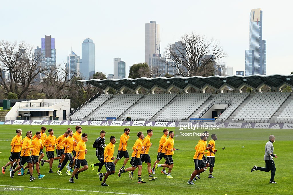 Juventus FC Welcome & Training Session : News Photo