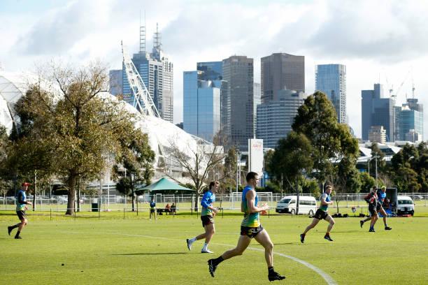 AUS: Gold Coast Suns Training Session