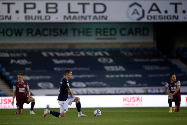 GBR: Millwall v Burnley - Carabao Cup Third Round