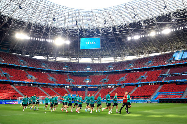 HUN: Hungary Training Session and Press Conference - UEFA Euro 2020: Group F