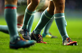 london england players wears rainbow laces