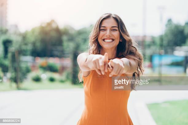playful beauty - flirting stock pictures, royalty-free photos & images