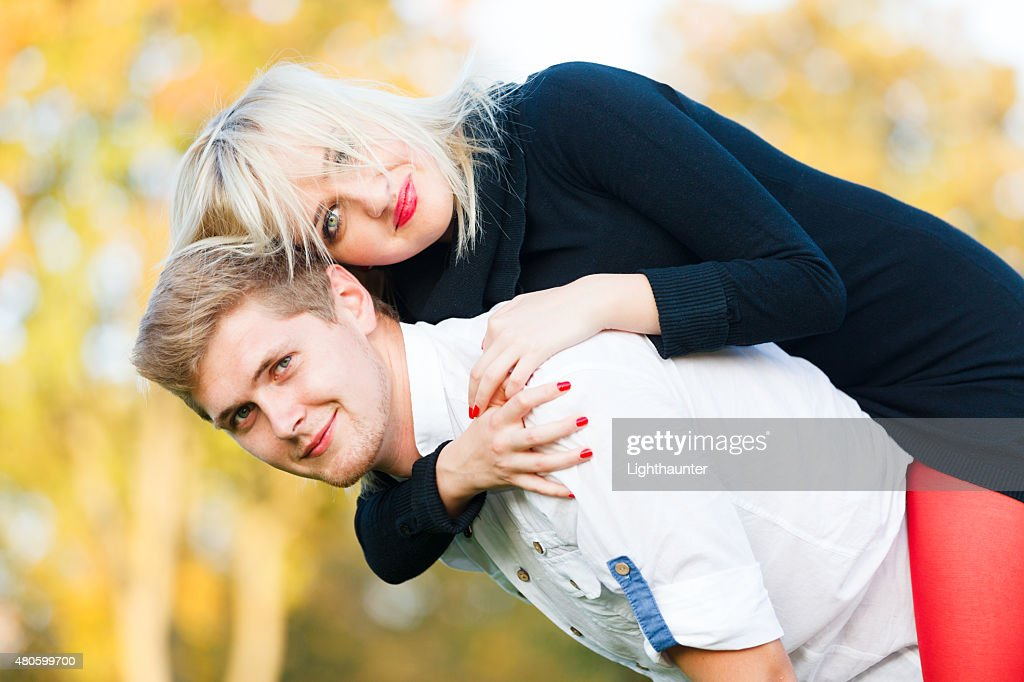 Playful behaviour : Stock Photo