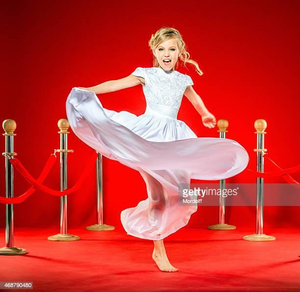 Playful Celebrity Little Girl