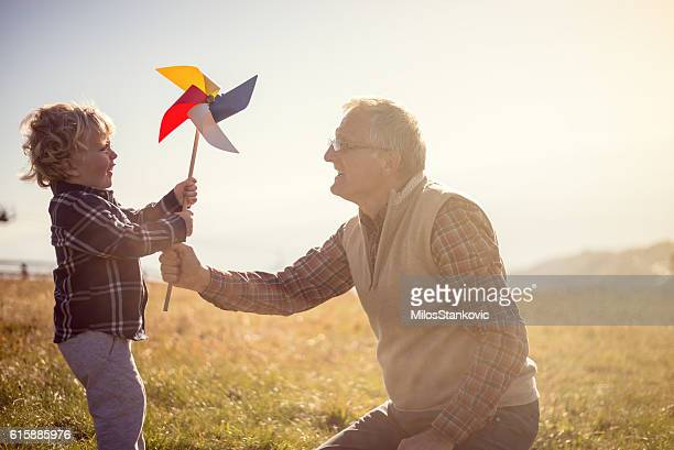 Playful day with my Grandpa