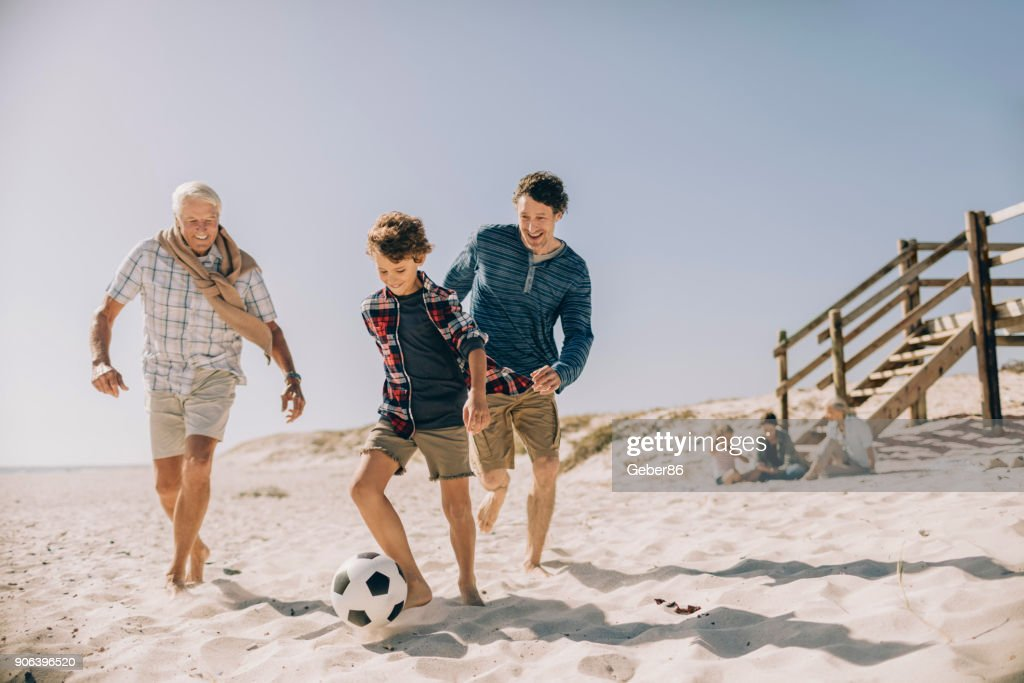 Playful family : Stock Photo