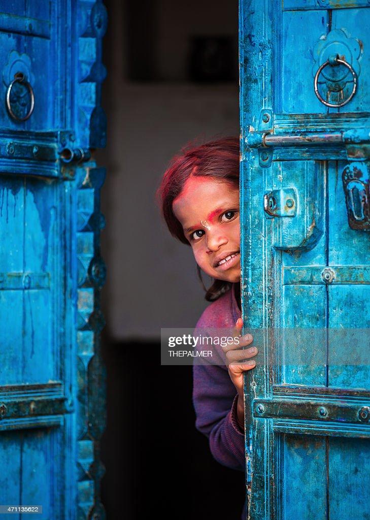 Playful indian girl : Stock Photo