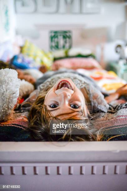 playful kid - girl wrestling stock pictures, royalty-free photos & images