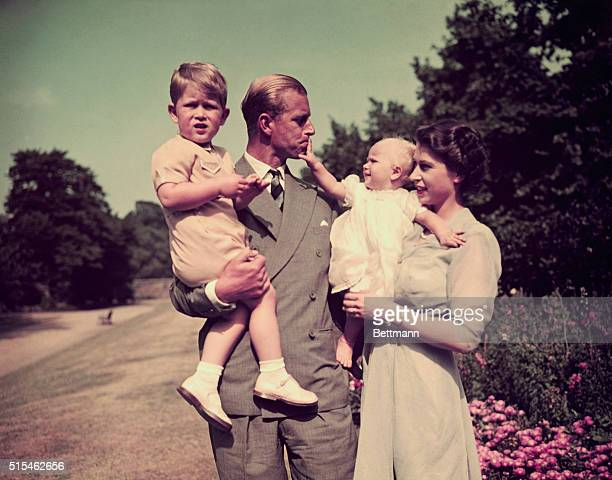 Playful Portrait of the Royal Family