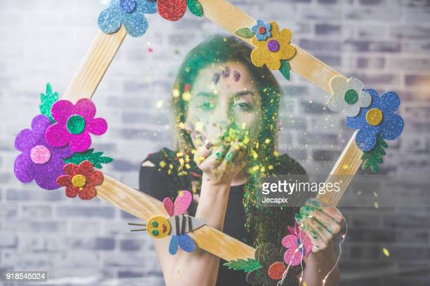 Playful portrait