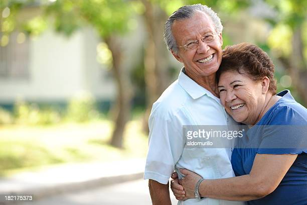 playful seniors - latin american and hispanic ethnicity stock pictures, royalty-free photos & images