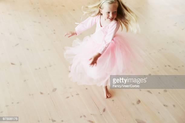 Playful young girl