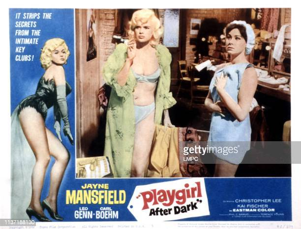 Playgirl After Dark lobbycard Jayne Mansfield 1960